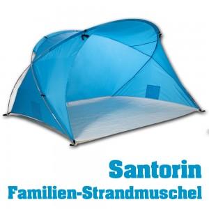 familien strandmuschel santorin