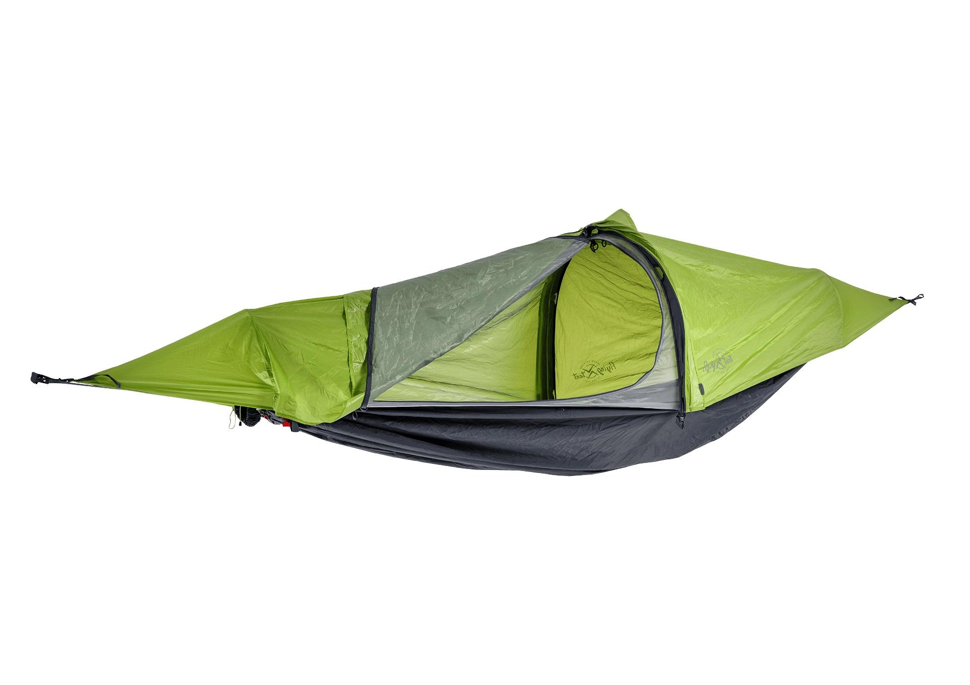Flying Tent das ultraleichte Hängemattenzelt mit Moskitonetz