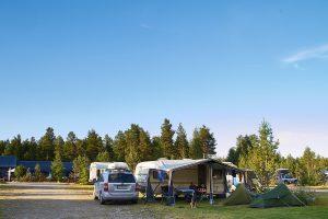 Skandinavientour - Camp Sörälvens Fiskecamping in Idre/Schweden