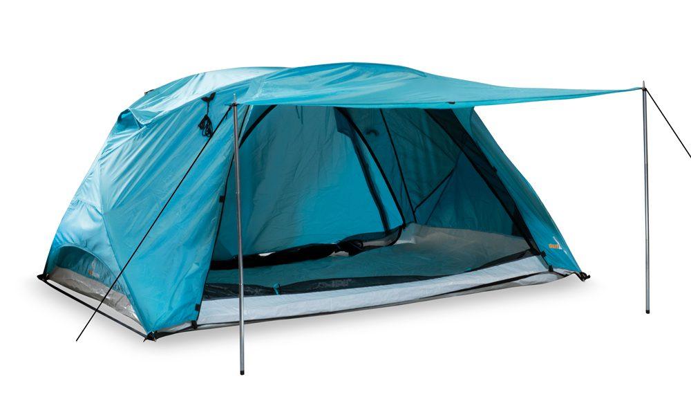 Strandmuschel Svalin - doppelwandiges Zelt