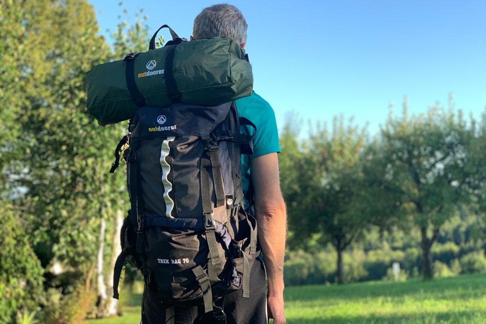 Backpacking mit Zelt TitelbildBackpacking mit Zelt Titelbild