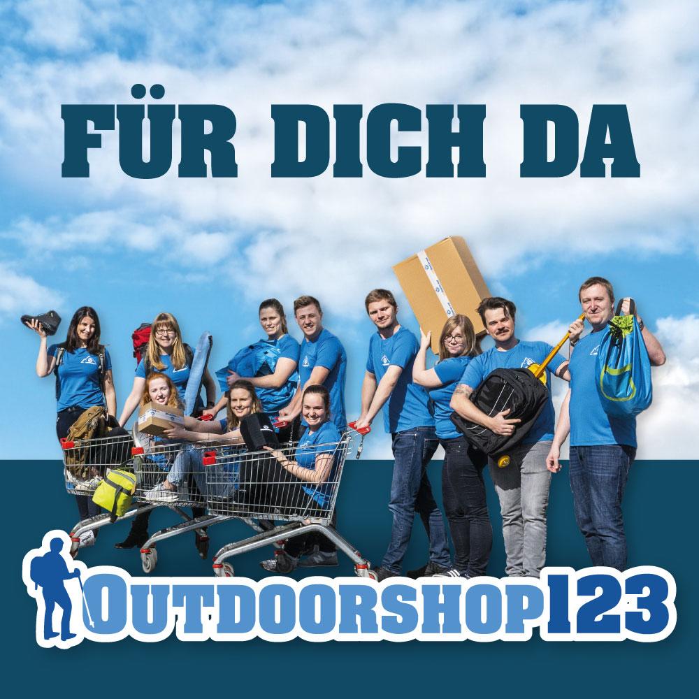Outdoorshop123-Team für dich da