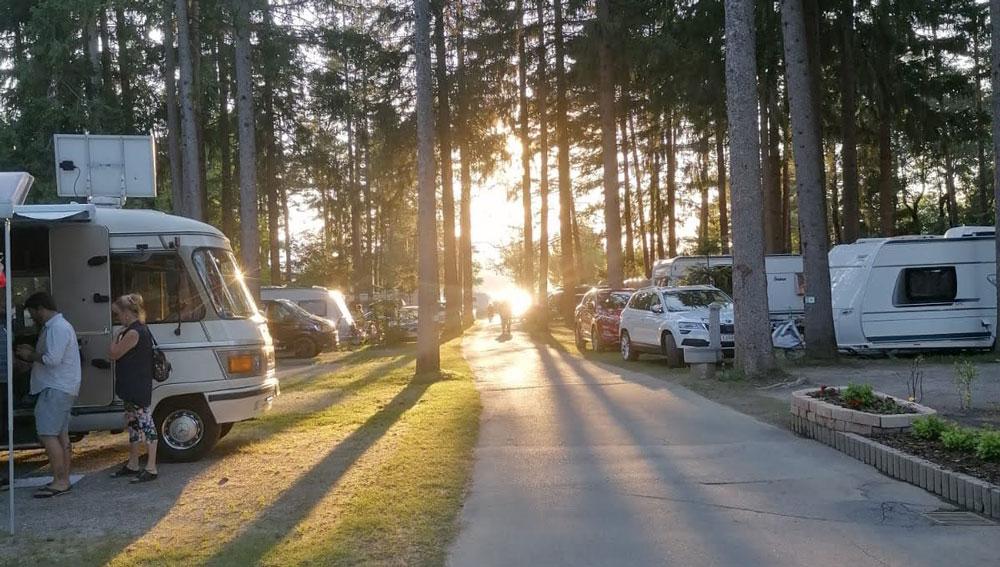 Camping am See in Kärnten